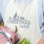 Christmas Farm Organic Apron