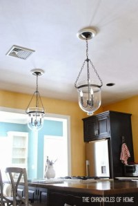 {Tutorial} How to Convert Recessed Lights to Pendants ...