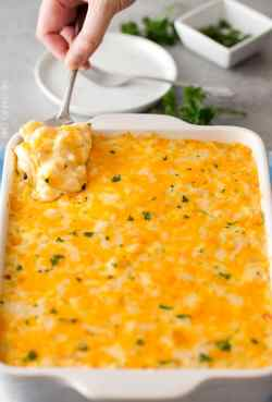 Small Of Three Cheese Mac And Cheese