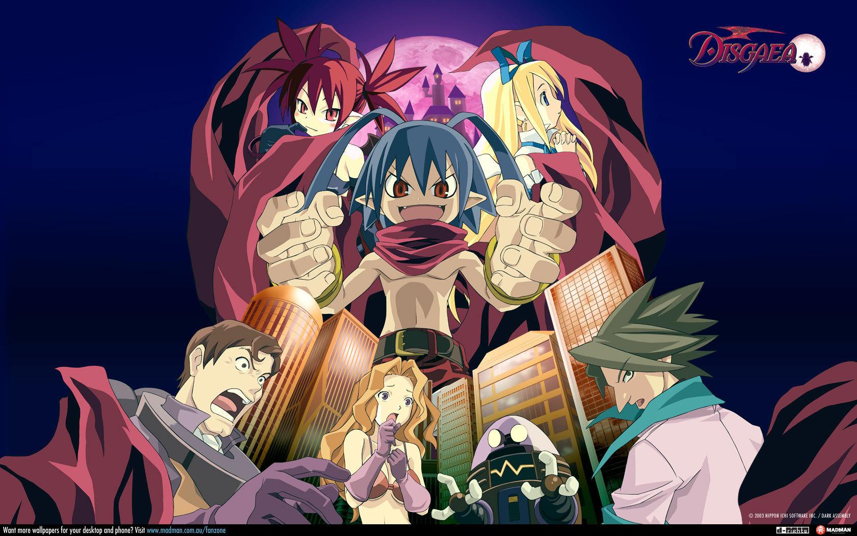 How To Make Anime Wallpaper Disgaea The Anime 2006 Anime Nonsense Gt The Cinema