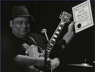 Mikey Merola, New York Blues Hall of Fame Inductee