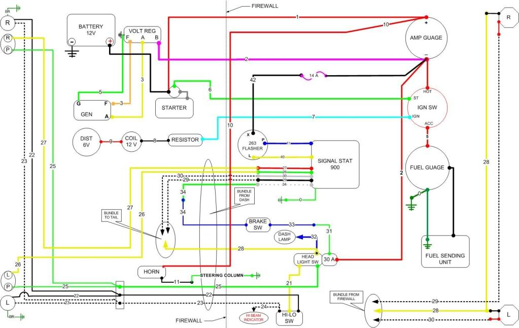 1951 Mercury Wiring Diagram Wiring Diagram