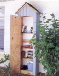 How to Build Outdoor Storage Cabinet Plans PDF Plans