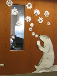 Winter Door Decorations