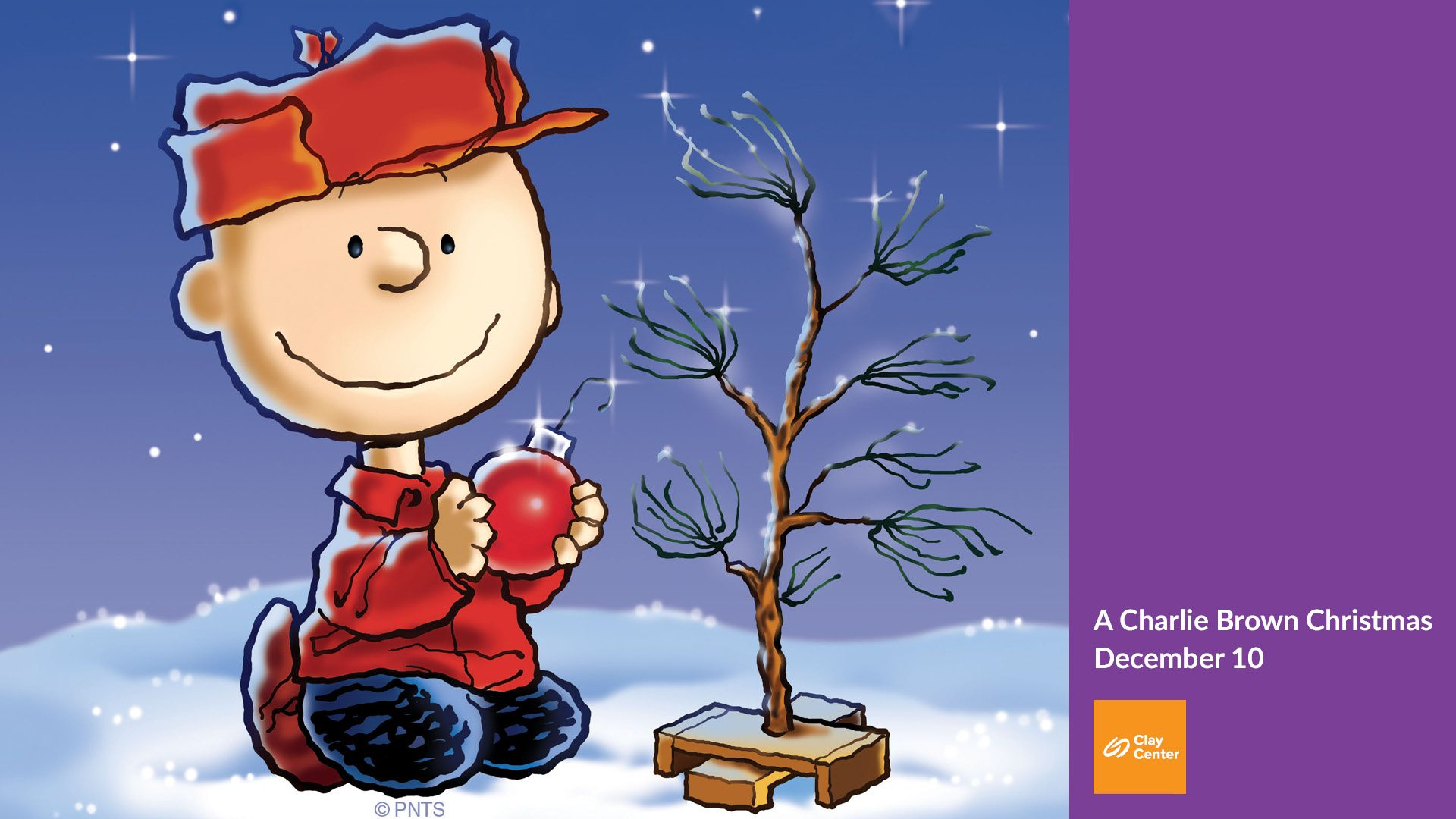 Snoopy Fall Wallpaper A Charlie Brown Christmas Live Clay Center