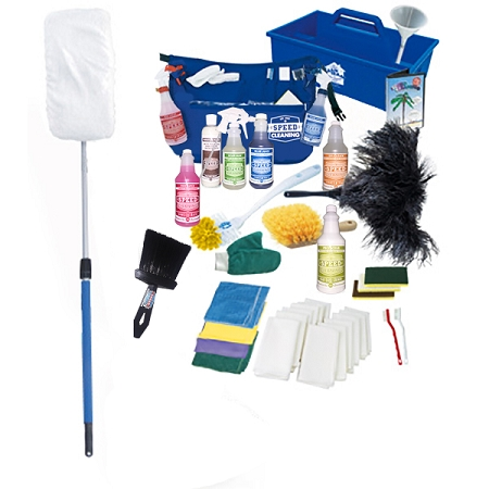 Total Home Care Kit with The Sh-Mop Speed Cleaning Products