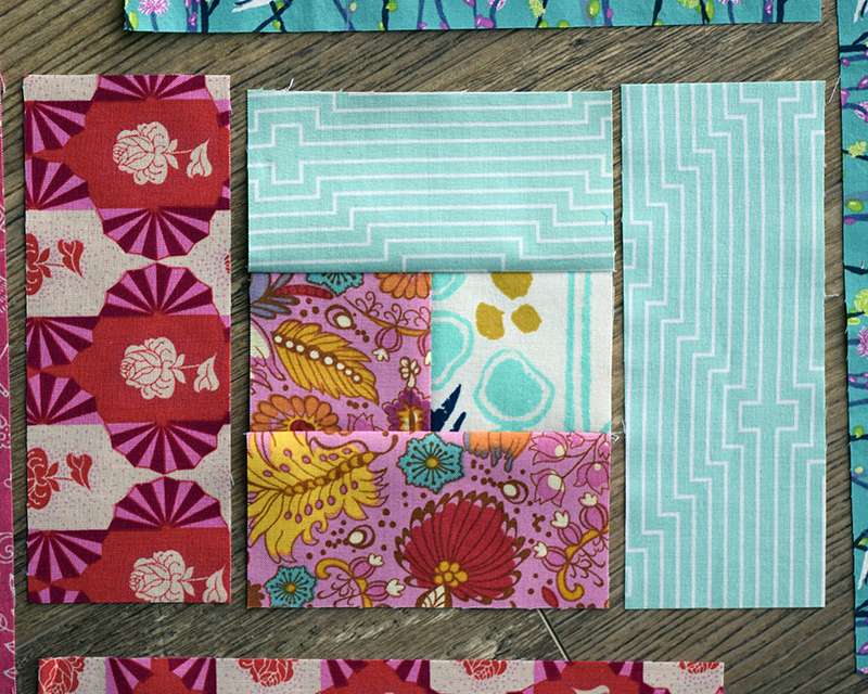 Make this log cabin quilt block tutorial for How to draw a log cabin step by step