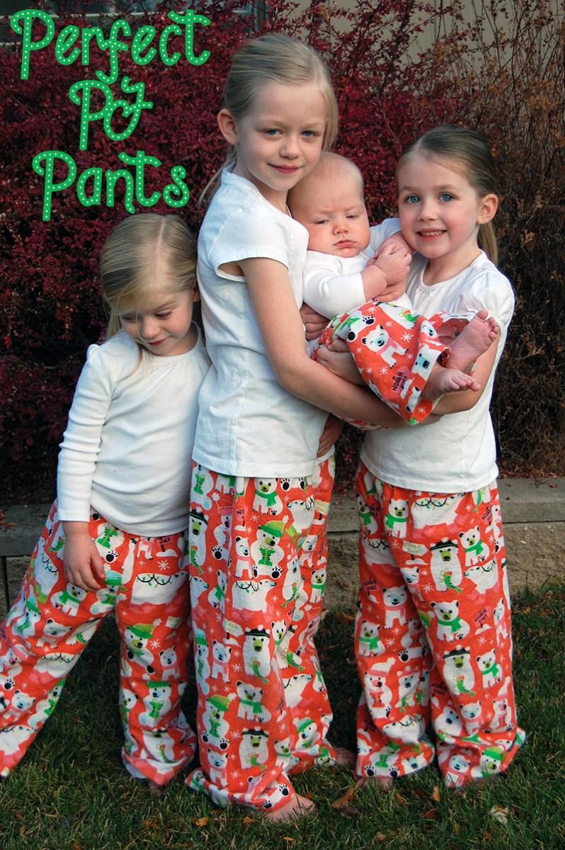 Make This: Perfect PJ Pants + Free Kids Pattern