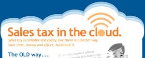 cloud sales tax application