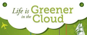 green cloud infographic