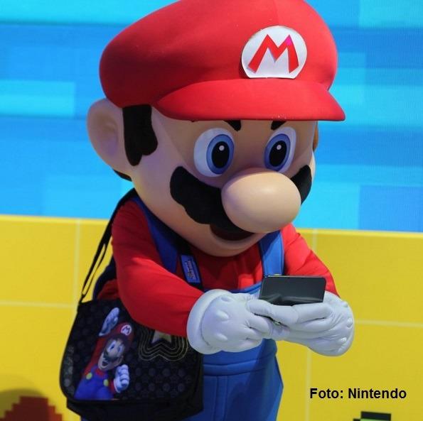 Nintendo Mario crédito