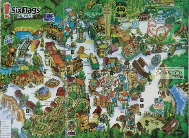 Mapa Six 2000 OK