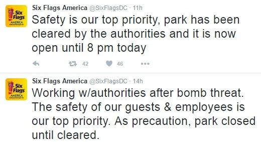 Six Flags America tuits
