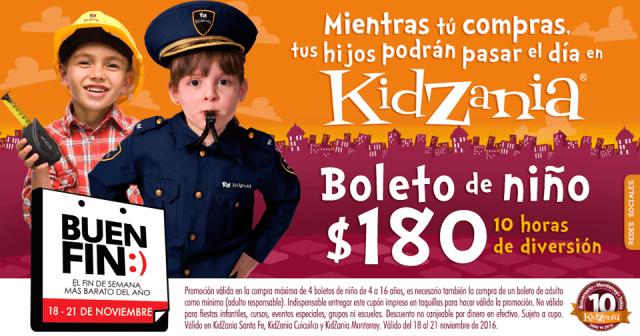 KidZania busca que los niños no se aburran mientras que sus papás compran.