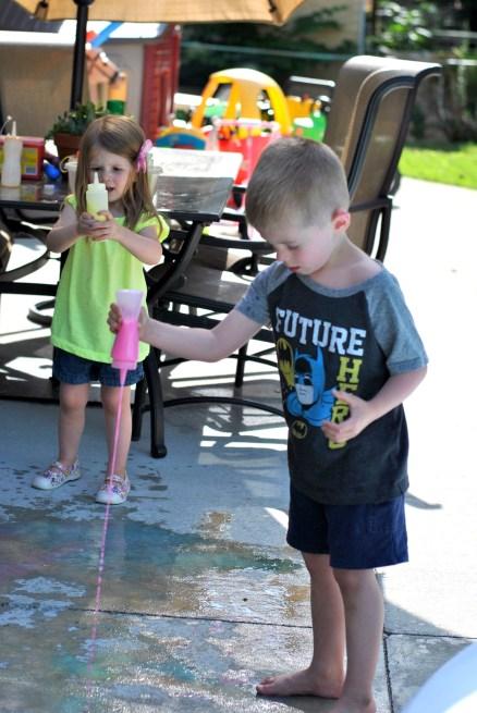 Sidewalk Chalk Paint
