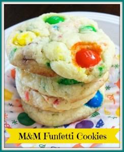 MM Funfetti Cookies