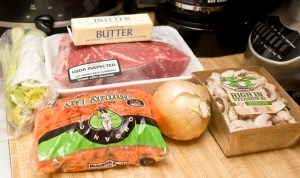 ingredients for Trim Healthy Mama Pot Roast