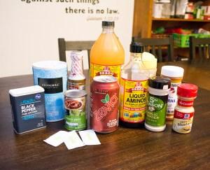 ingredients for sugar free bbq sauce
