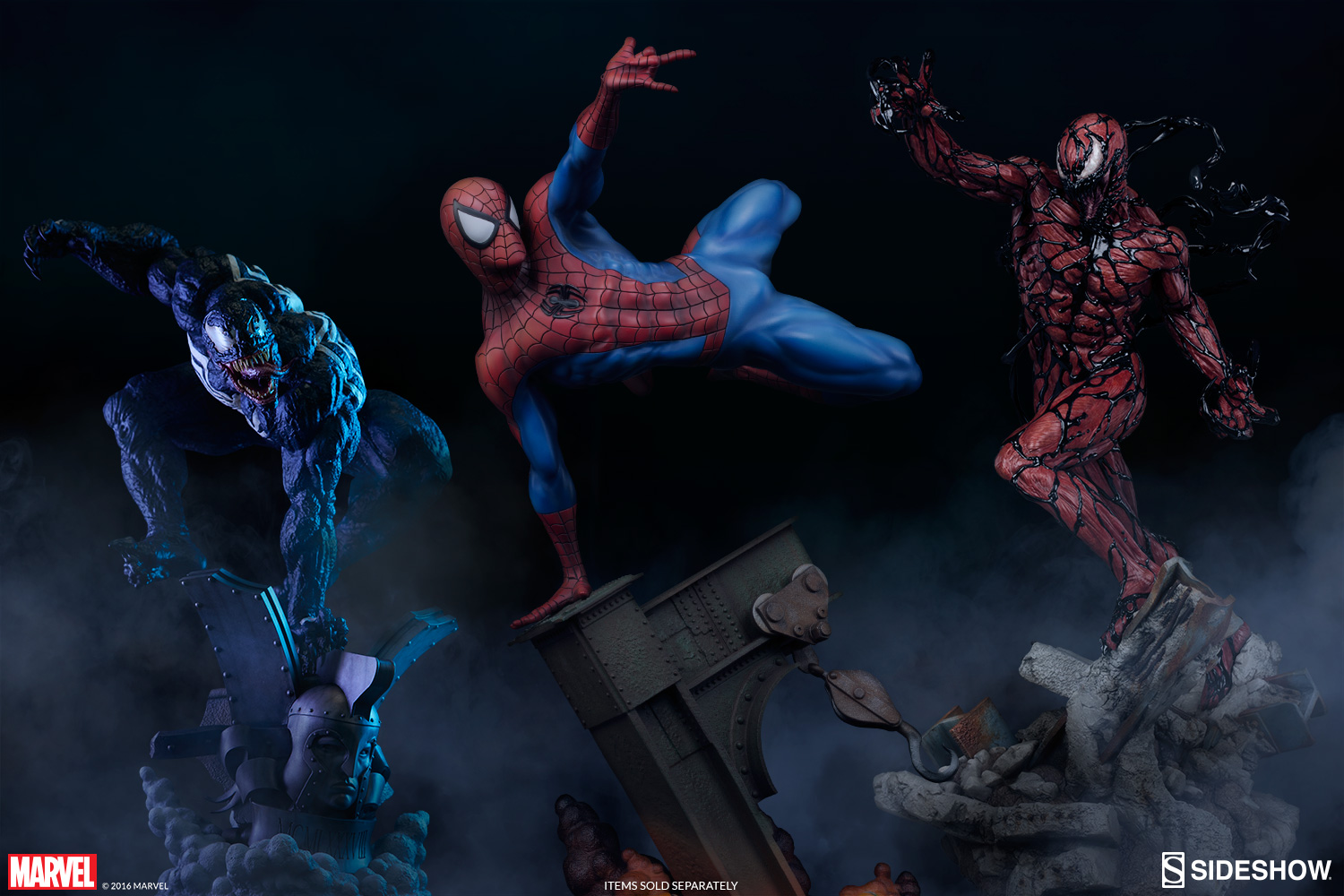 3d Crazy Wallpaper Marvel Carnage Premium Format Statue The Collectibles Store