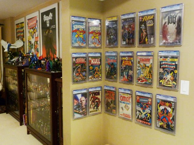 How To Effectively Display Slabbed Comic Books The Comic
