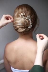Simple and Best Wedding Hairstyles Low Bun | WeddingHairstyles