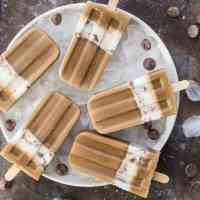 Mocha Cream Popsicles