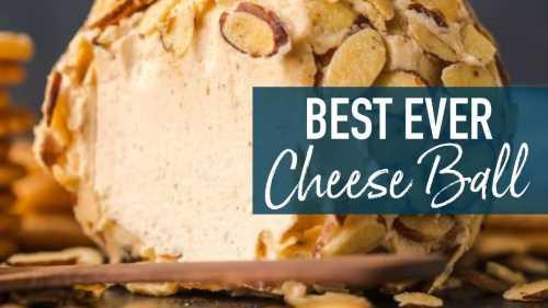 Medium Of Best Cheese Ball Recipe