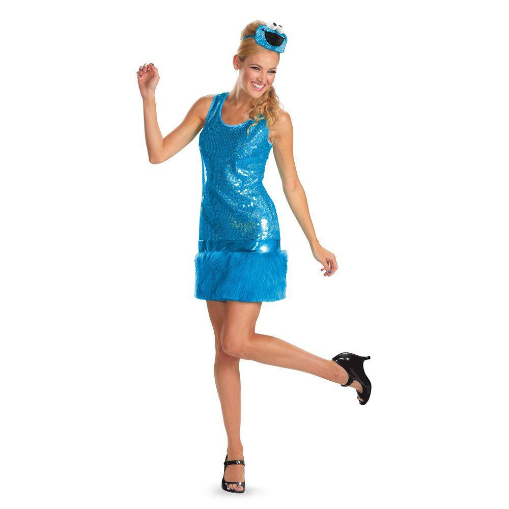 cookie monster costume women - meningrey