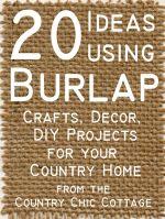 DIY Country Crafts Home Decor