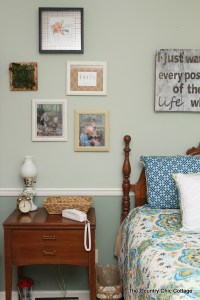 Rustic Farmhouse Bedroom Reveal - The Country Chic Cottage