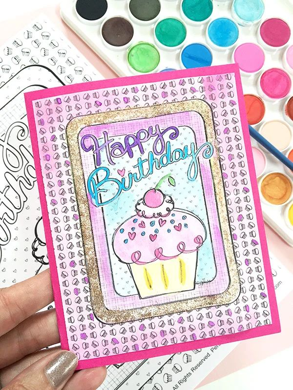 make your own birthday card free printable