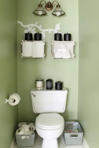 Small Bathroom Organization Ideas - The Country Chic Cottage