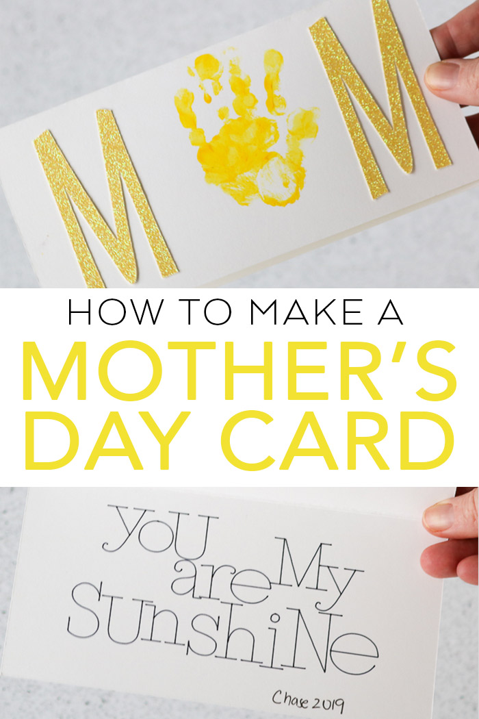 How to Make a Mother\u0027s Day Card with Your Cricut - The Country Chic