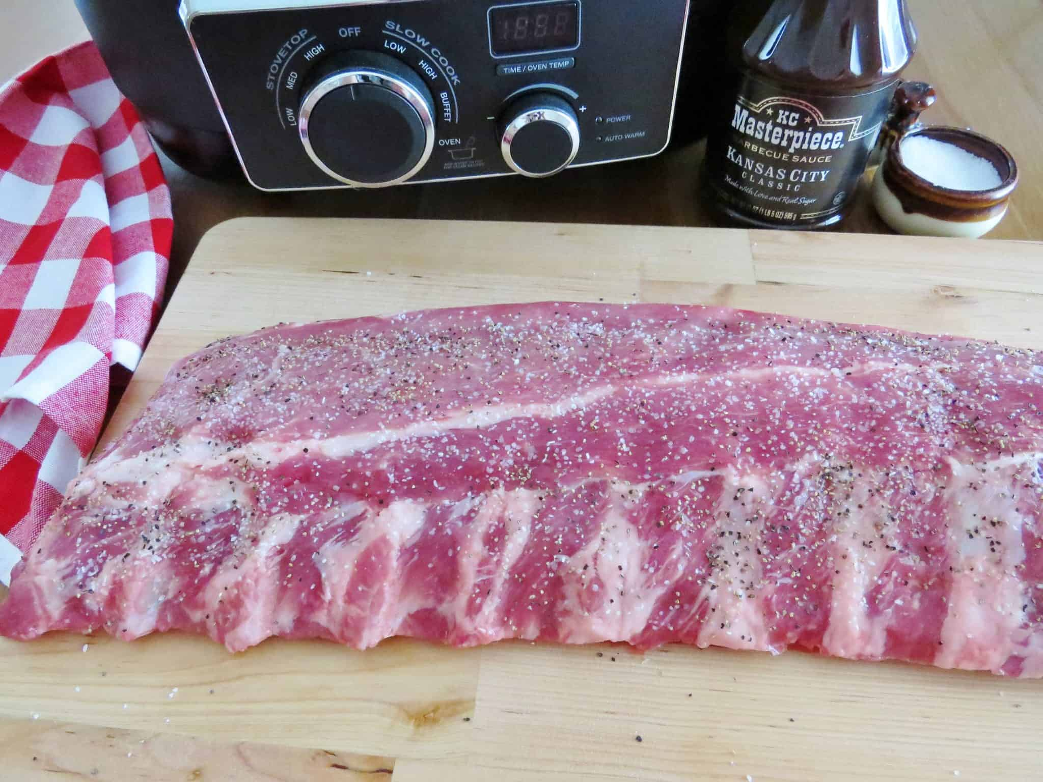 Crock Pot Bbq Ribs The Country Cook