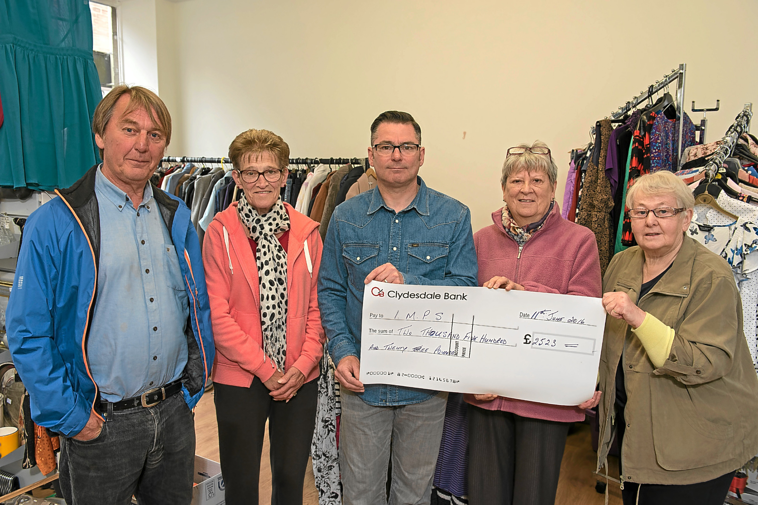 2500 Cash Boost For Angus Community Group The Courier
