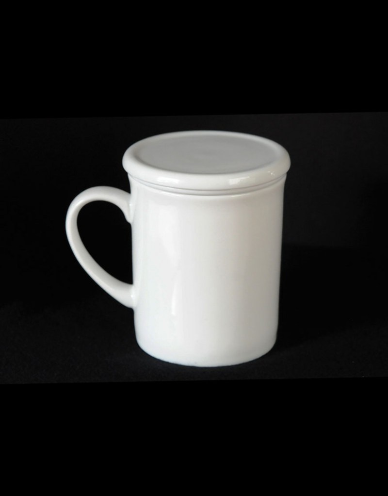 Large Of Plain White Tea Cup