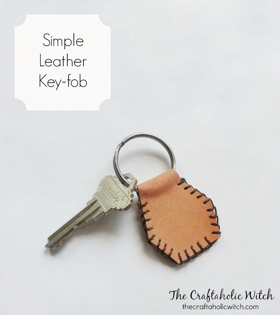 Create Simple Leather Key-fob