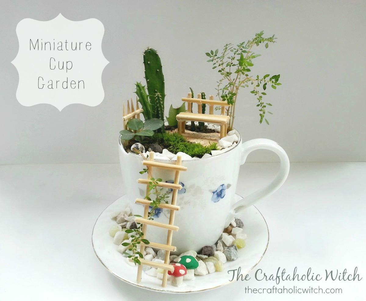 Create a Cute Cup Garden