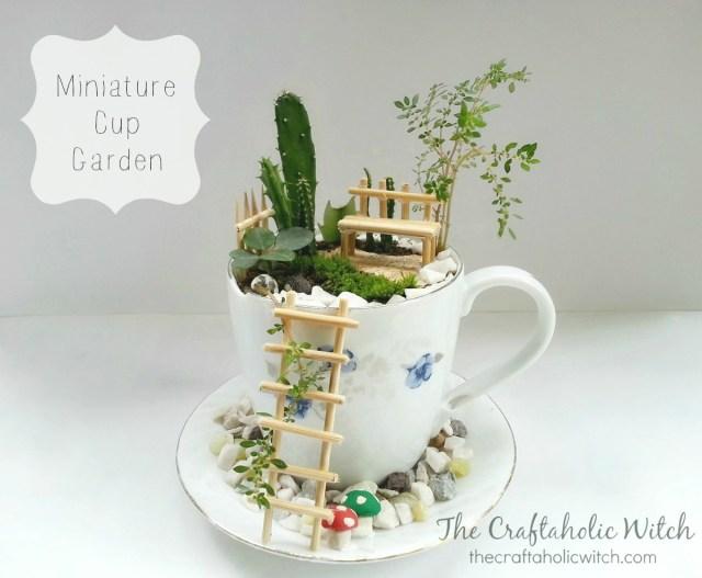 mini cup garden