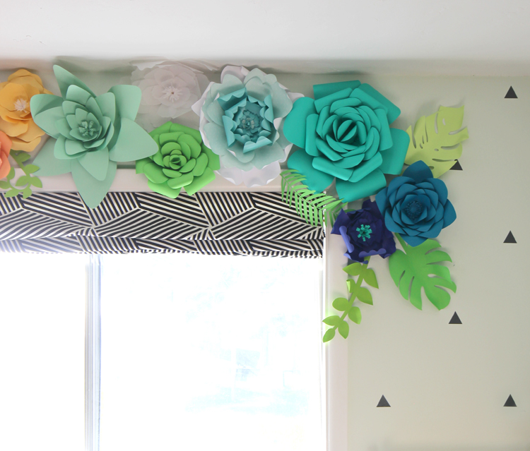 How to Make Paper Flowers - thecraftpatchblog