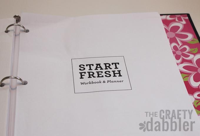 Photo of Start Fresh Workbook