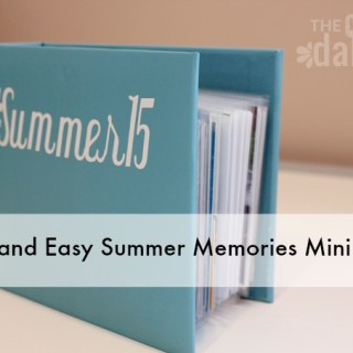 Quick and Easy Summer Memories Mini Album
