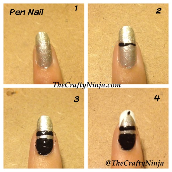 pen nails diy