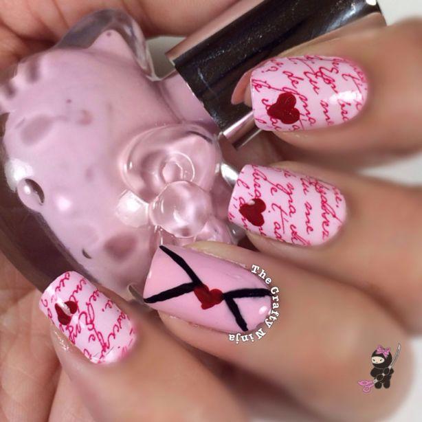 Nail Art Design Letters: Letter nail designs simple design ideas ...