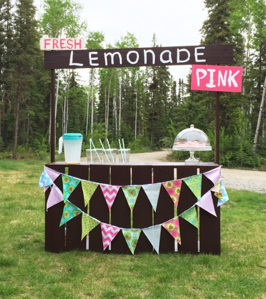 17 simple furniture building plans for beginners the for Build a lemonade stand