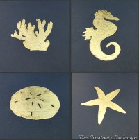 How to Gold Leaf on Paper {DIY Wall Art}..