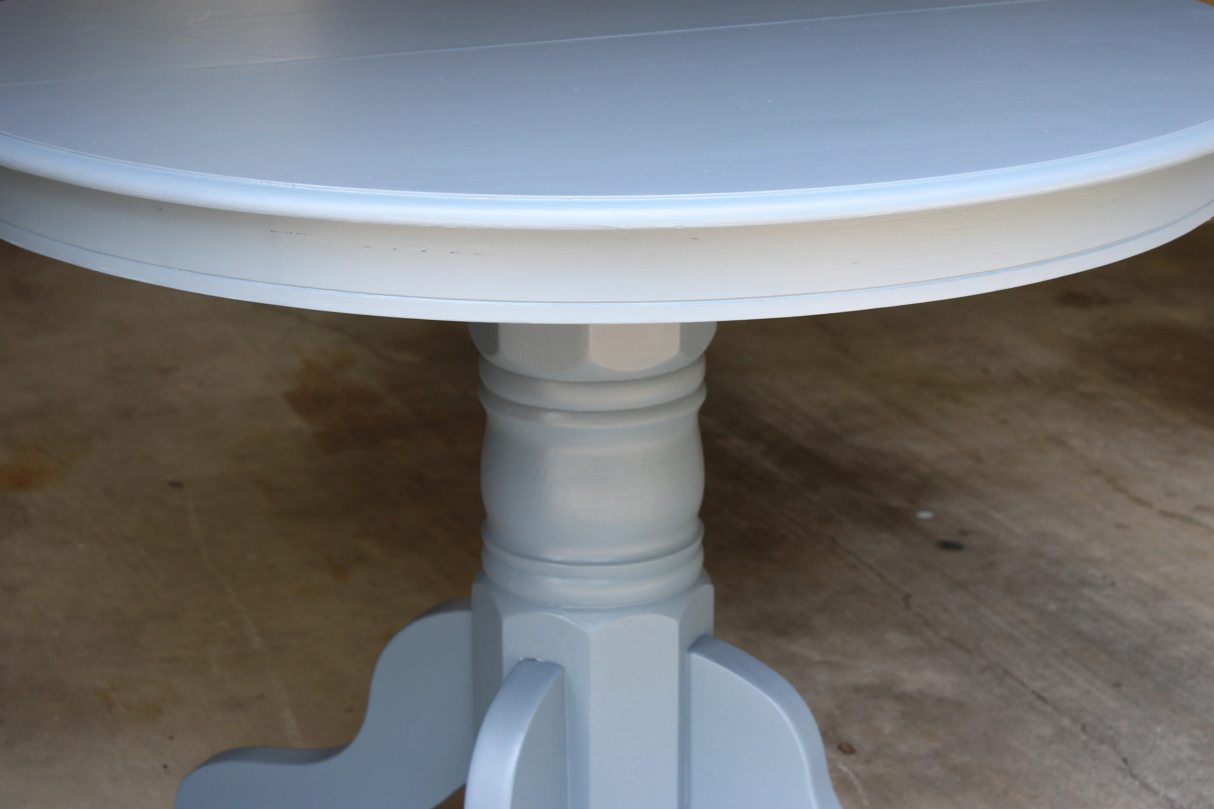 craft room table before and after oil based paint tricks painting kitchen table Tips and tricks for working with oil based paints to create a flawless finish The