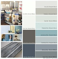 Favorite Pottery Barn Paint Colors