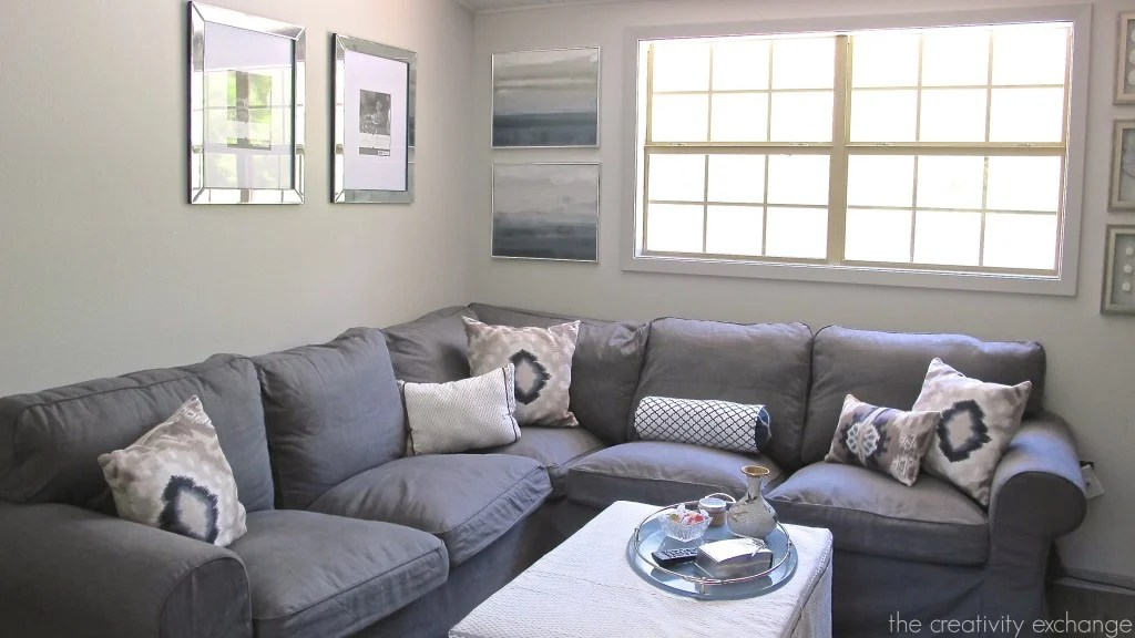 Paint Colors in My Home My Color Strategy - mindful gray living room