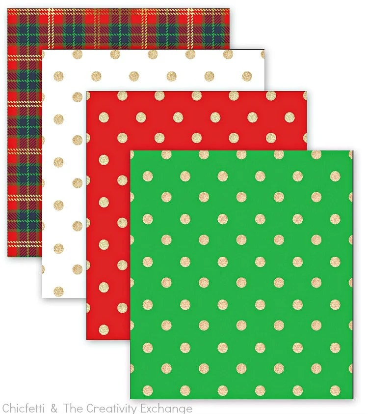 Free Christmas Printables Gift Tags, Wrap Paper and Bows